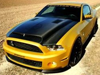 Golden Snake Ford Mustang GT640 продемонстрировали GeigerCars